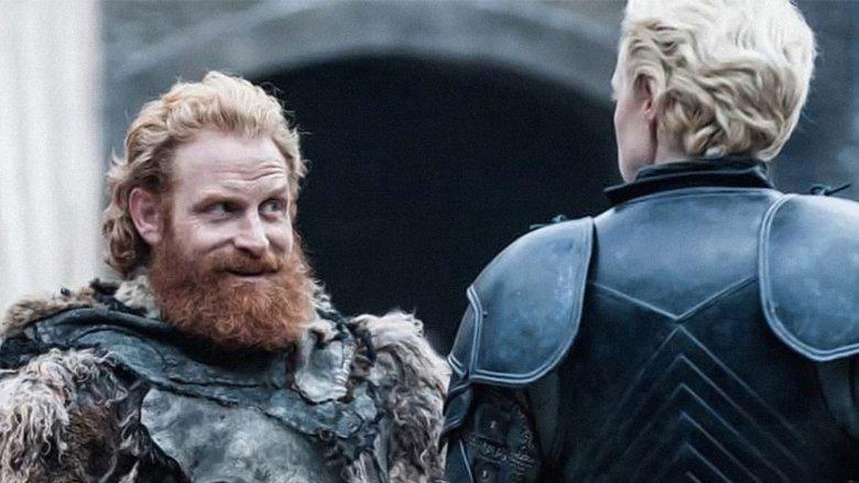 Tormund Giantsbane and Brienne of Tarth