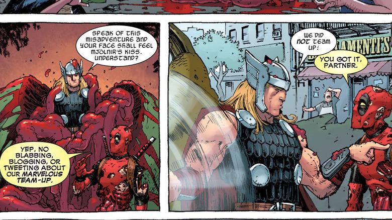 Thor and Deadpool