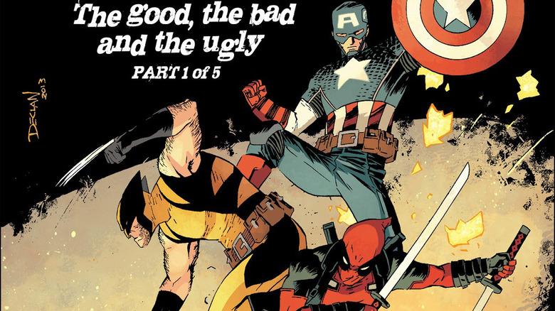 Wolverine Deadpool Captain America