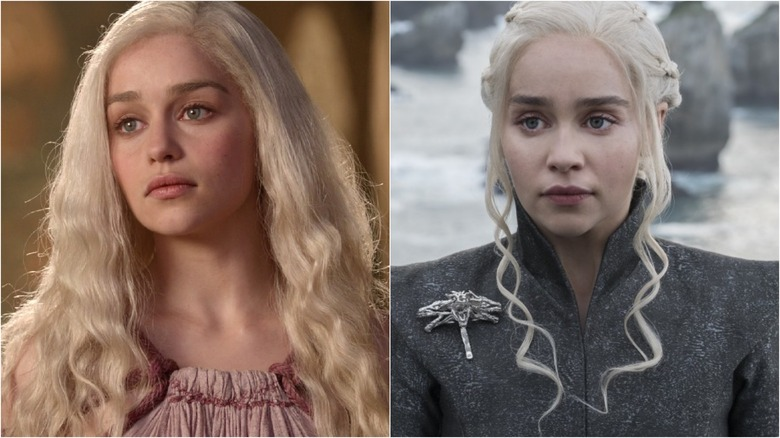 How the cast of Game of Thrones has changed Emilia Clarke Daenerys Targaryen Season 1