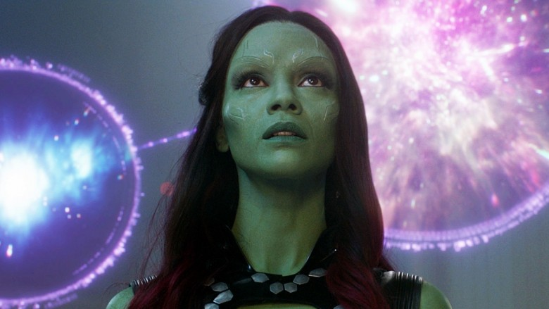 How Zoe Saldana transformed into Gamora