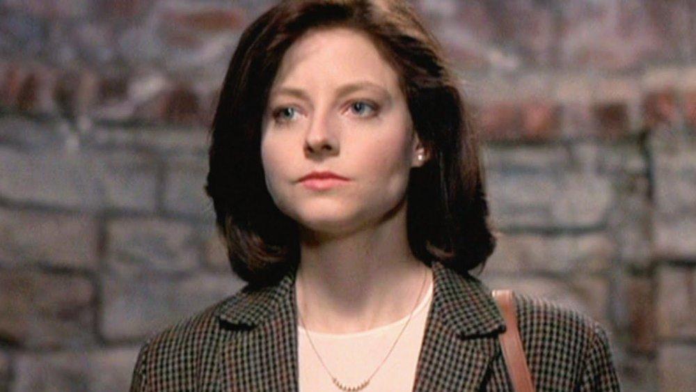 Jodie Foster dans le rôle de Clarice Starling dans Le silence des agneaux