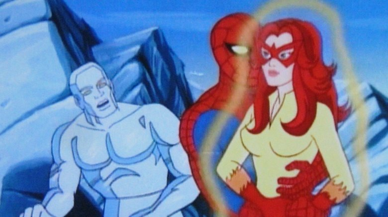 Spider-Man, Iceman, and Firestar