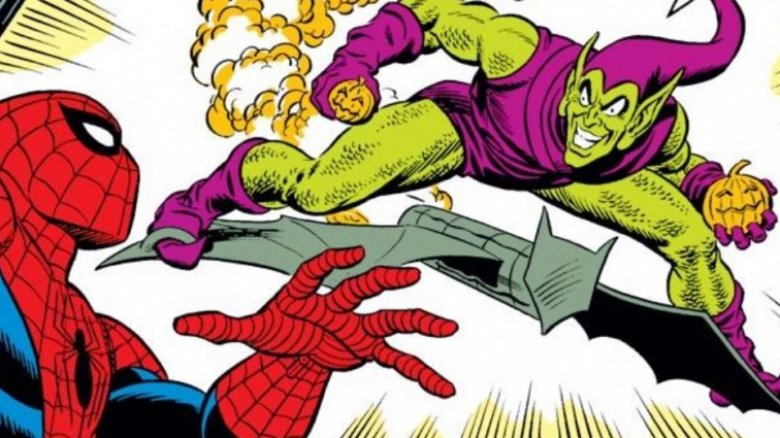 Spider-Man and Green Goblin