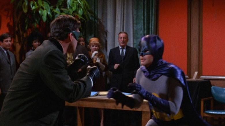 superheroes batman has defeated