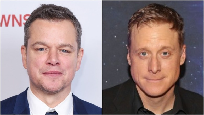 Matt Damon and Alan Tudyk
