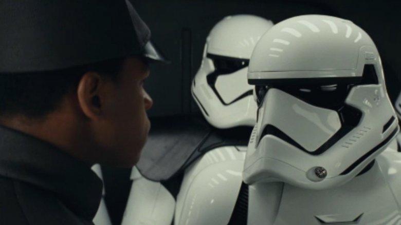 Finn stormtroopers Last Jedi