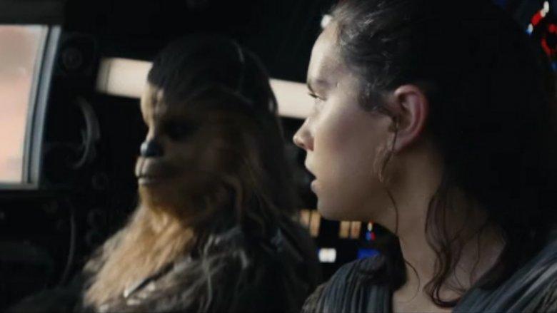 Chewbacca Rey Last Jedi