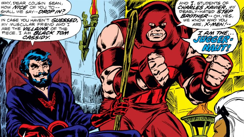Black Tom Cassidy and Juggernaut