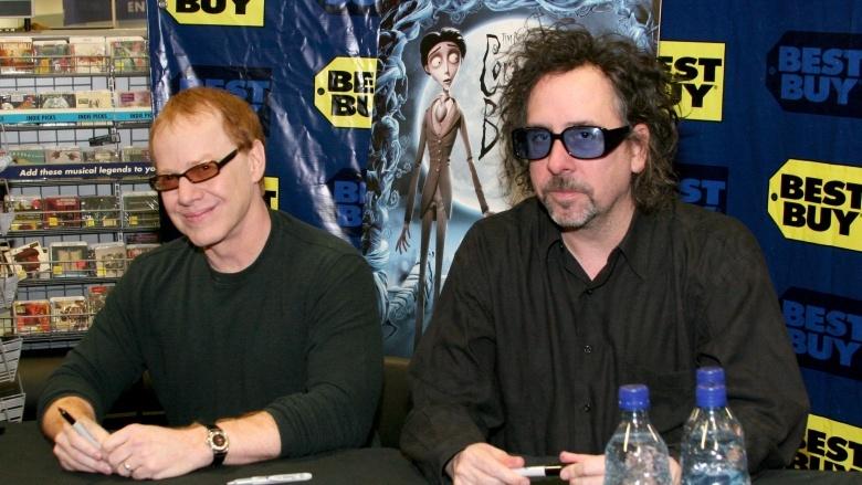 Danny Elfman and Tim Burton
