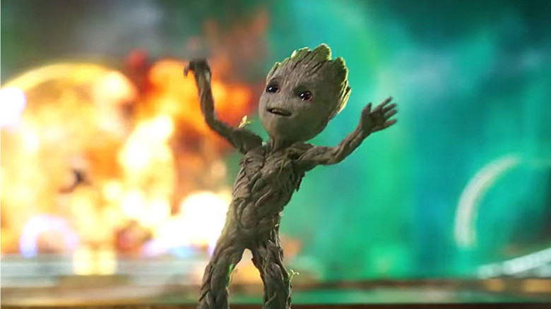 Baby Groot Gets His Groove On In Guardians Vol 2
