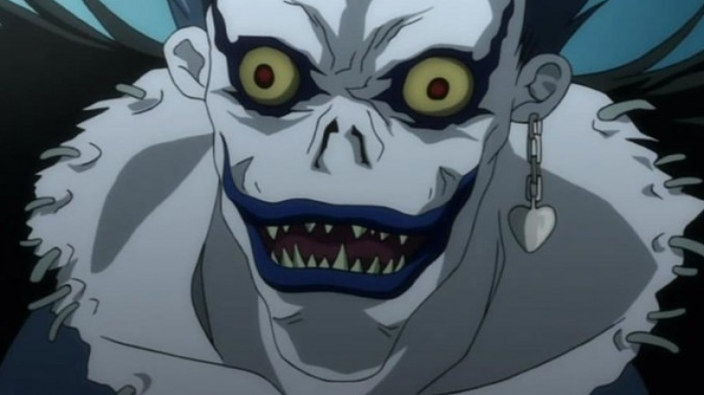 Ryuk in Death Note had to be played by two actors