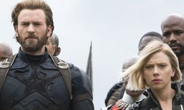 Avengers Infinity War Captain America Black Widow
