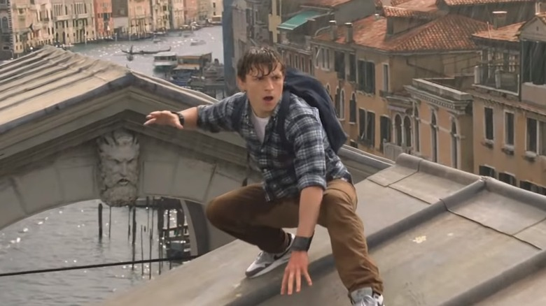 Scene from Spider-Man: Far from Home