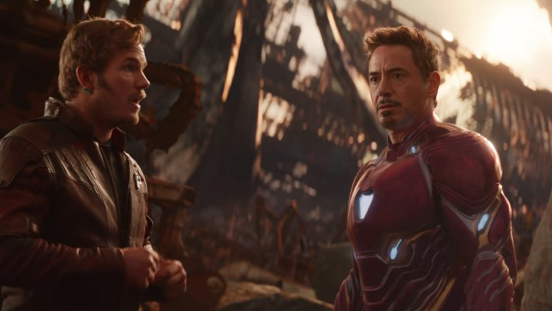 Star-Lord and Iron Man