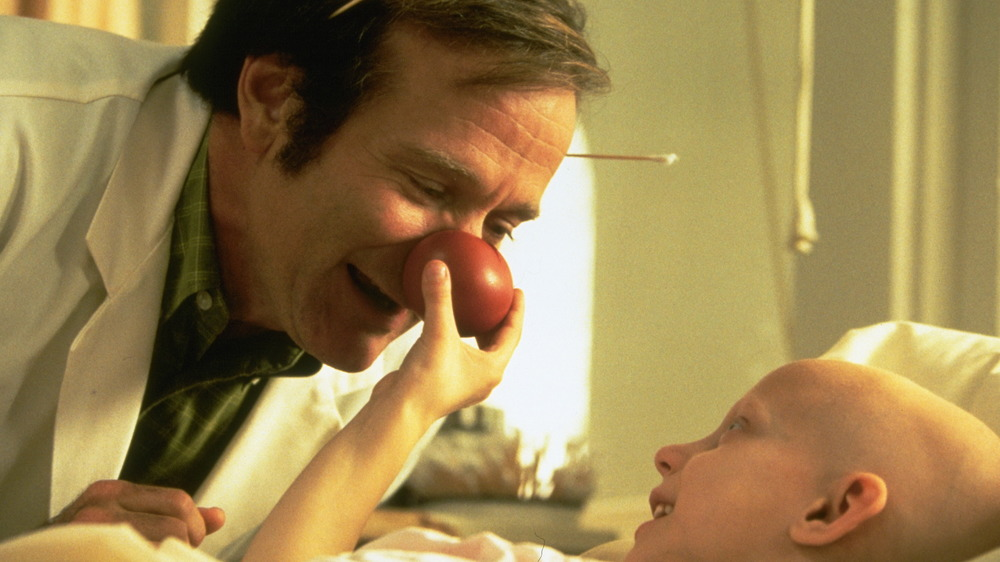 Patch Adams with child