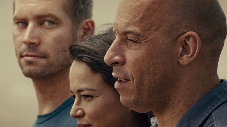 Paul Walker in Furious 7