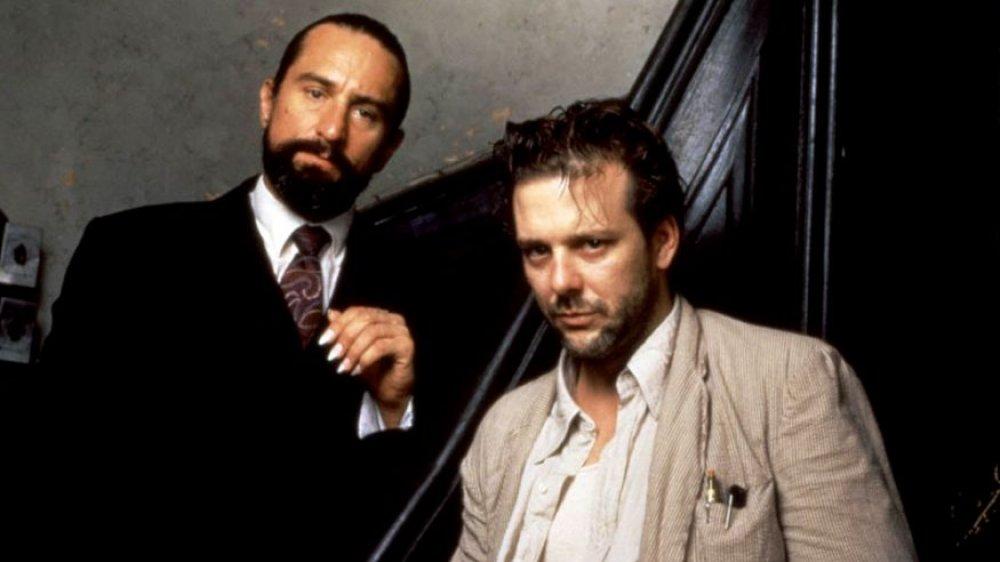 Robert De Niro and Mickey Rourke, Angel Heart