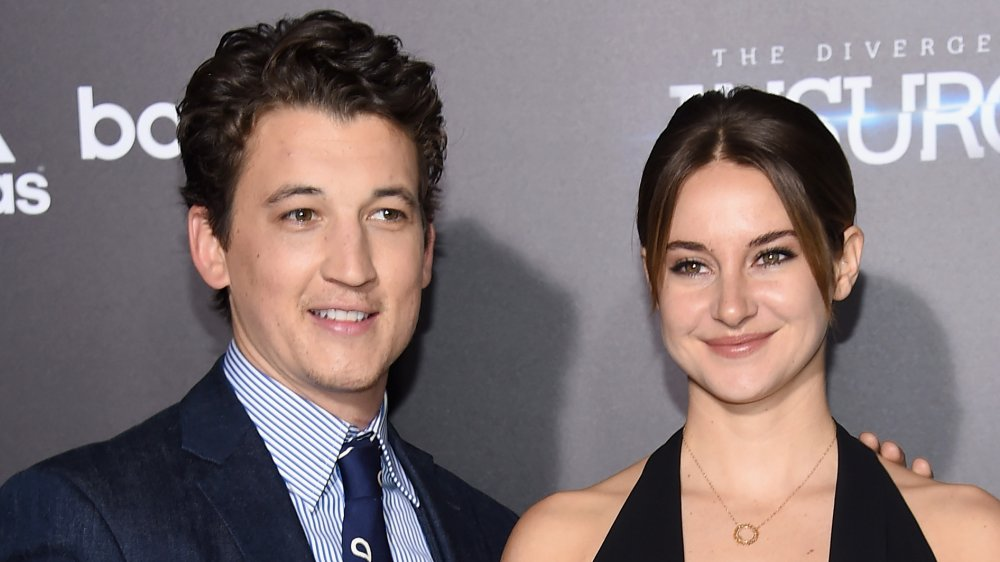 Shallene Woodley and Miles Teller