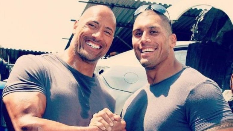 The Rock and Tanoai Reed