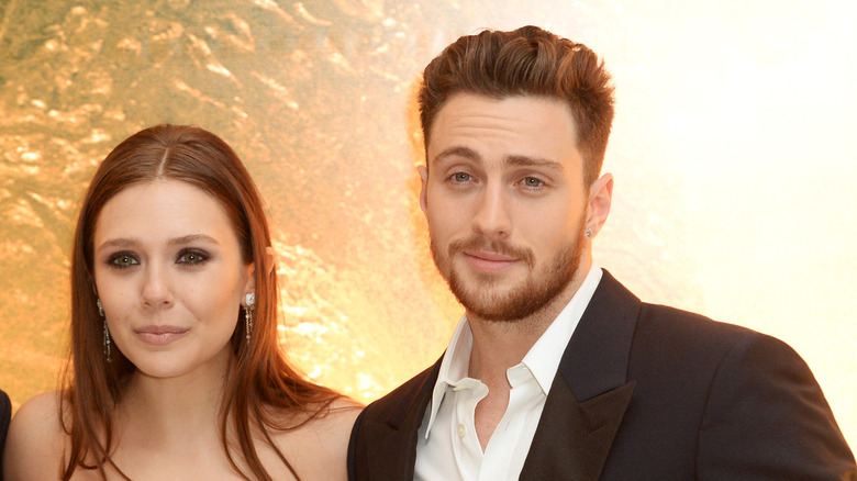Aaron-Taylor Johnson and Elizabeth Oslen