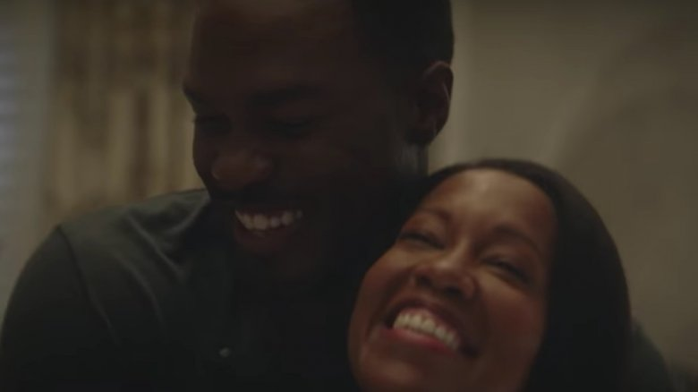 Yahya Abdul-Mateen II as Cal Abraham and Regina King as Angela Abar in the teaser trailer for HBO's Watchmen