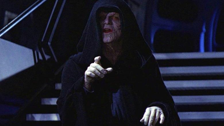 Ian McDiarmid as Emperor Palpatine/Darth Sidious