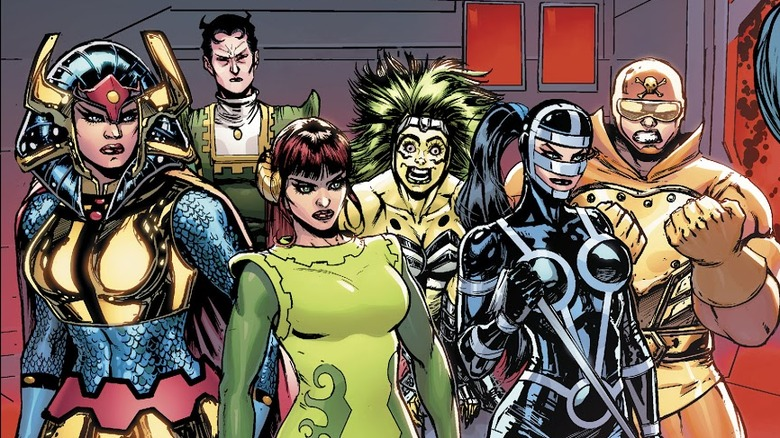 The Female Furies from 2019's Female Furies #1
