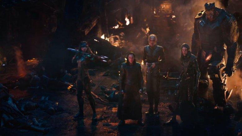 The Asgardian wreckage