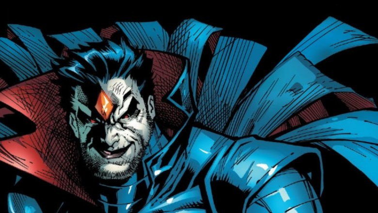 A comic book image of Mister Sinister