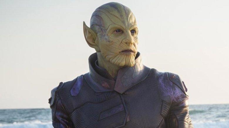 A Skrull in Captain Marvel