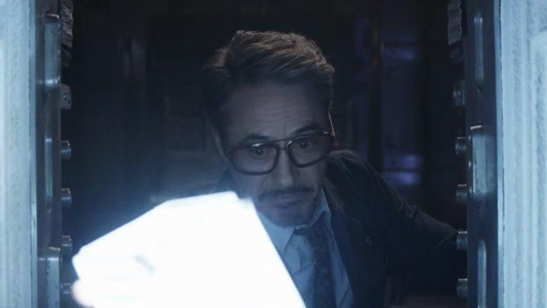 Robert Downey Jr. Tony Stark Tesserato Vingadores Endgame