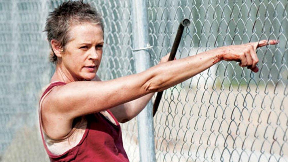 Melissa McBride as Carol Peletier, from The Walking Dead