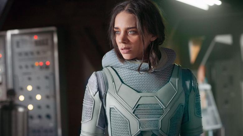 Hannah John-Kamen as Ava Starr/Ghost
