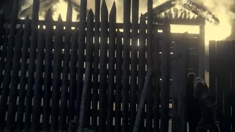 Olrik, Ragnar, Bjorn escape fire