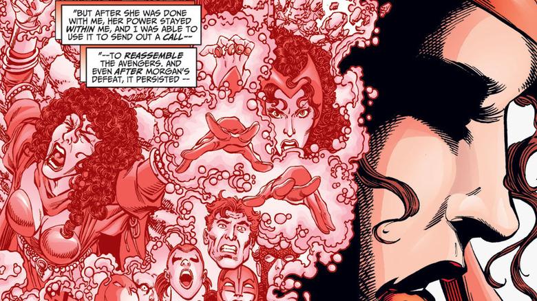 Scarlet Witch in turmoil