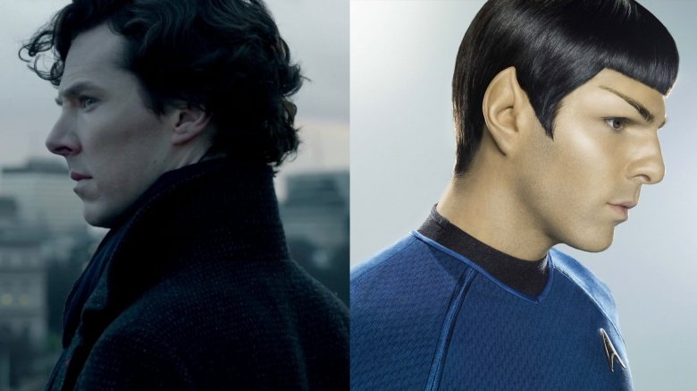 Sherlock Holmes and Mr. Spock