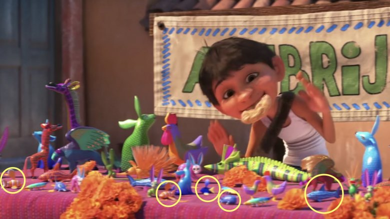 Buzz And Woody >> Easter eggs you missed in Coco