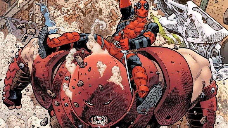Deadpool and Juggernaut