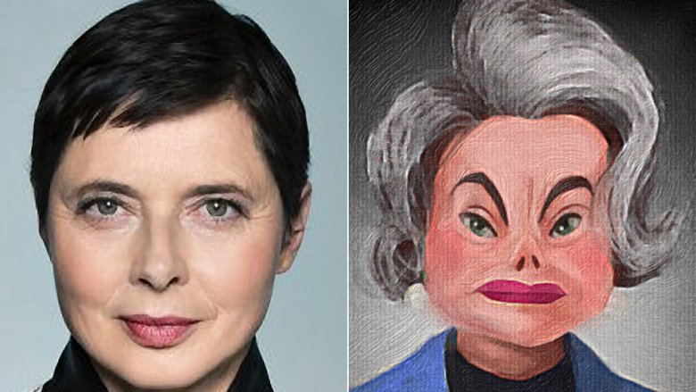 Isabella Rossellini as the Ambassador in Incredibles 2