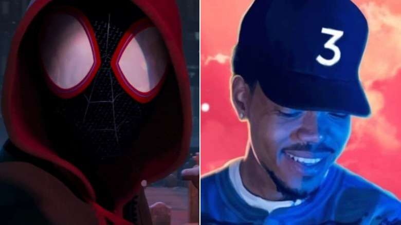 Miles Morales and Chance the Rapper