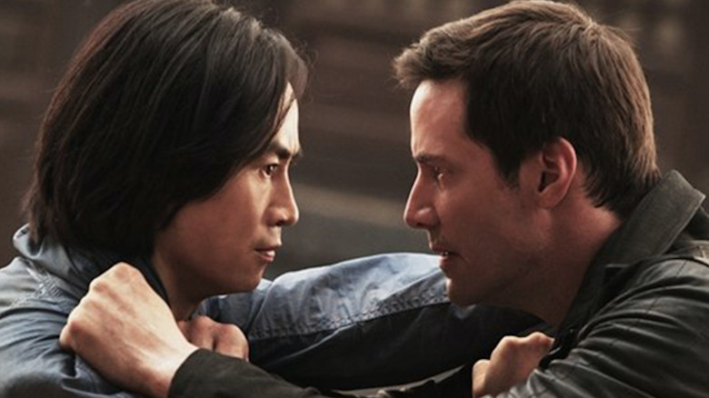Scene from Man of Tai Chi
