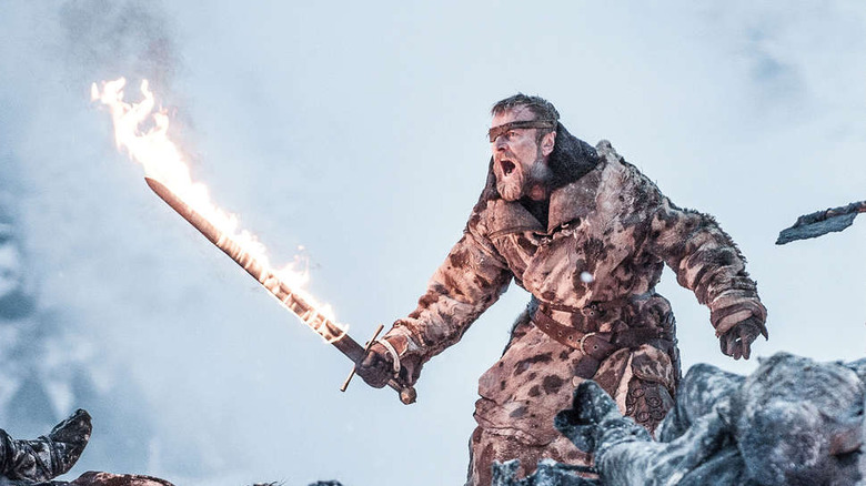 Beric Dondarrion in Game of Thrones