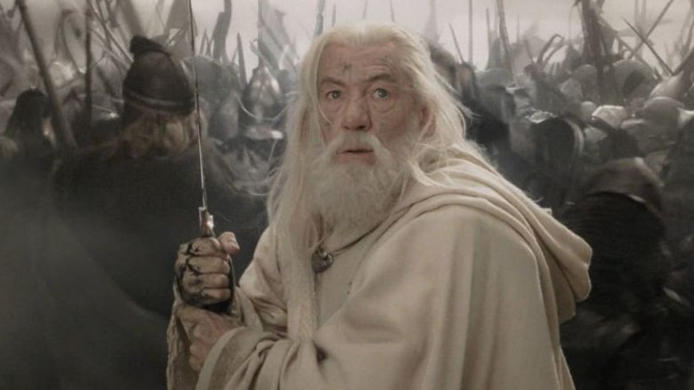 Gandalf in the Battle of the Black Gate