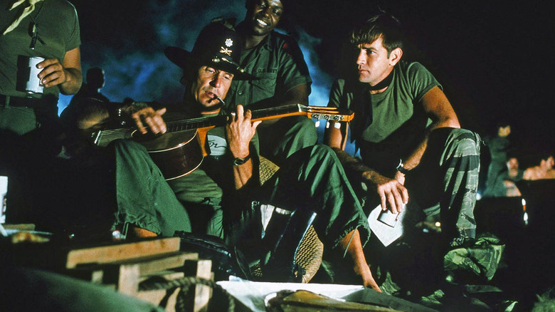 Robert Duvall and Martin Sheen in Apocalypse Now