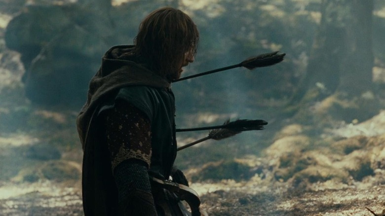 Sean Bean in The Fellowship of the Ring