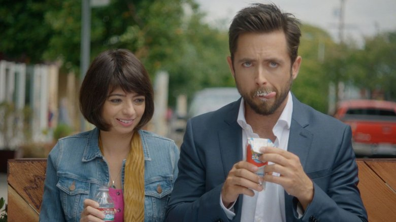 Kate Micucci and Justin Chatwin