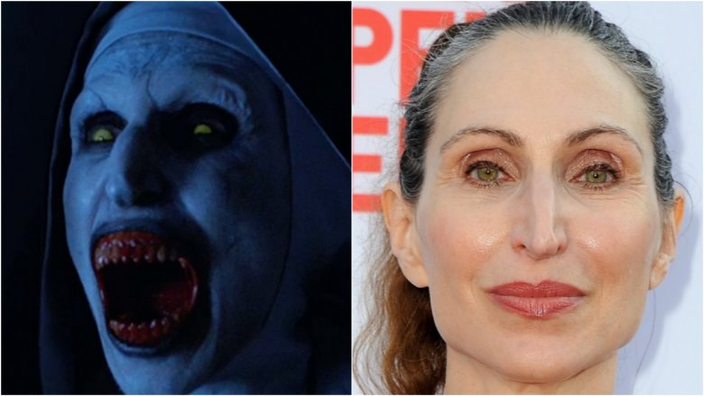 The Nun played by Bonnie Aarons