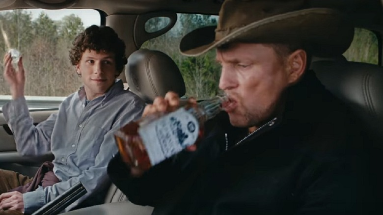 Jesse Eisenberg and Woody Harrelson in Zombieland