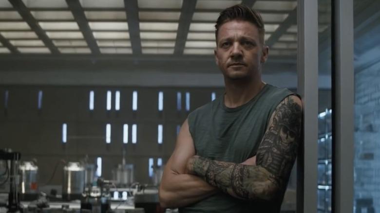 Jeremy Renner as Hawkeye in Avengers: Endgame